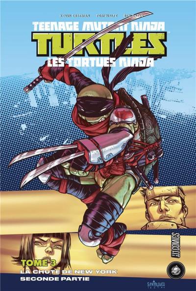 Couverture Les Tortues Ninja - TMNT tome 3