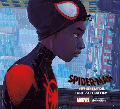 Couverture Spider-man - New generation - Tout l'art du film