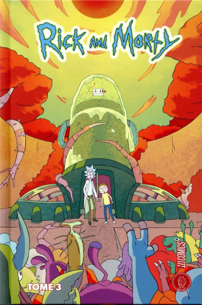 Couverture Rick & Morty tome 3