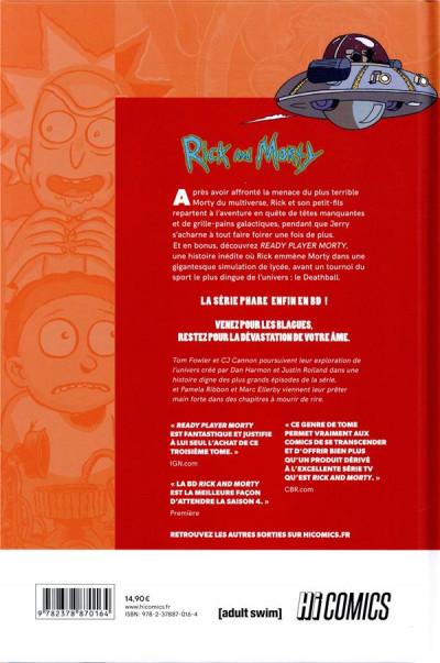 Dos Rick & Morty tome 3
