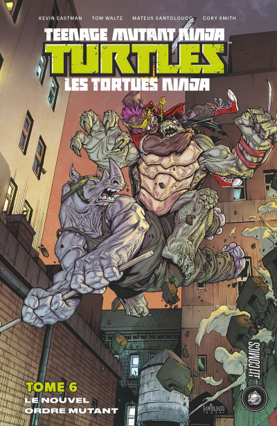 Couverture Les Tortues Ninja - TMNT tome 6