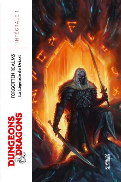 Couverture Dungeons & Dragons : La légende de Drizzt - intégrale de l'elfe noir