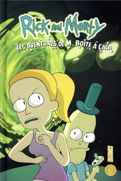 Couverture Rick & Morty - Les aventures de M. boîte à caca