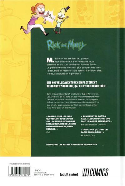 Dos Rick & Morty - Les aventures de M. boîte à caca