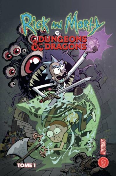 Couverture Rick & Morty x Donjons & dragons