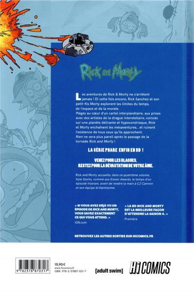 Dos Rick & Morty tome 4