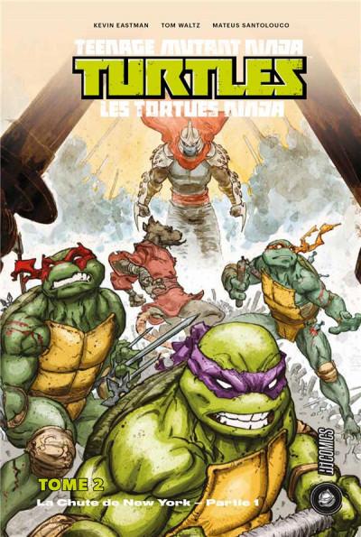 Couverture Les Tortues Ninja - TMNT tome 2