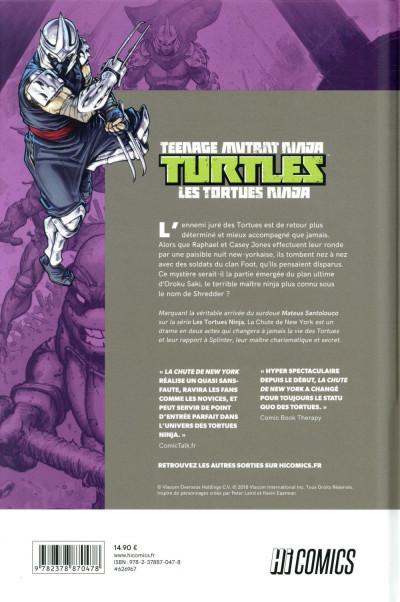 Dos Les Tortues Ninja - TMNT tome 2