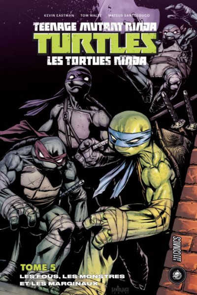 Couverture Les Tortues Ninja - TMNT tome 5