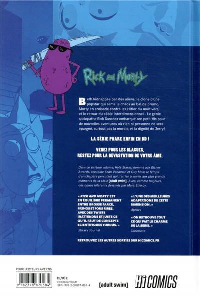 Dos Rick & Morty tome 6