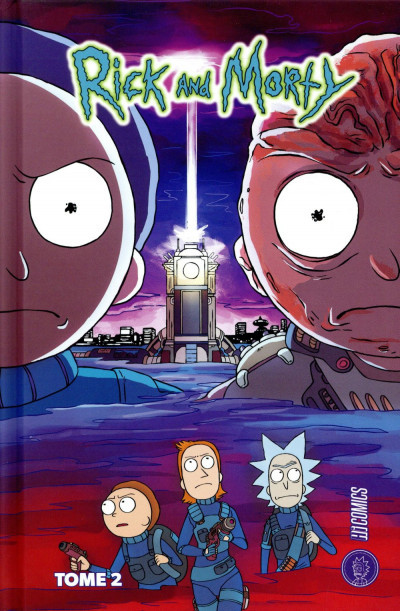 Couverture Rick & Morty tome 2