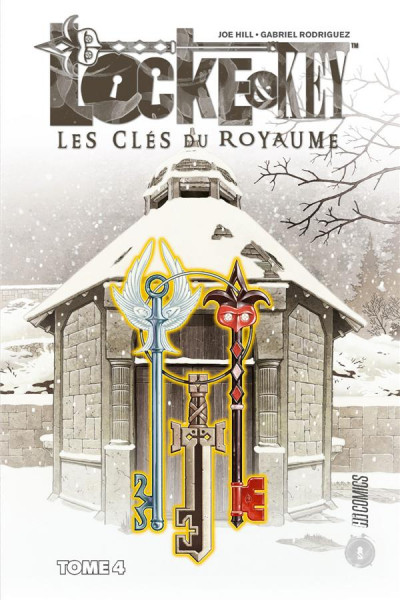 Couverture Locke & key tome 4