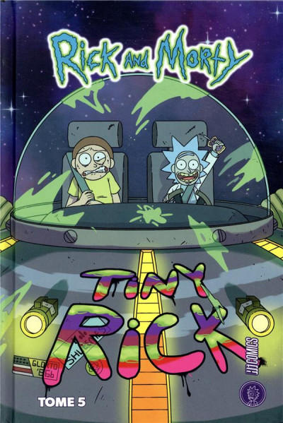 Couverture Rick & Morty tome 5