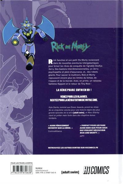 Dos Rick & Morty tome 5