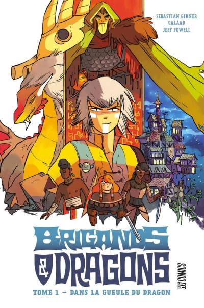 Couverture Brigands et dragons tome 1