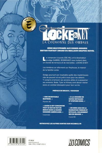 Dos Locke & Key tome 3