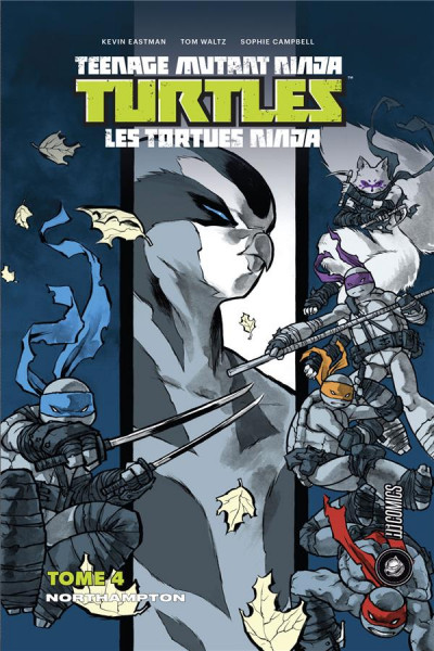 Couverture Les tortues ninja - TMNT tome 4