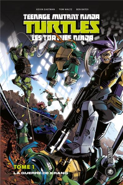 Couverture Les Tortues ninja - TMNT tome 1 - La guerre de Krang