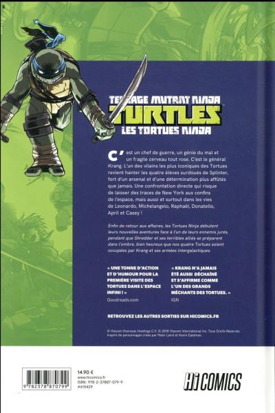 Dos Les Tortues ninja - TMNT tome 1 - La guerre de Krang