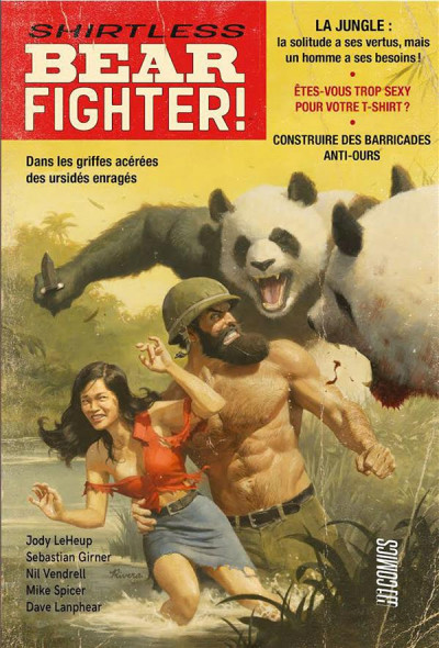 Couverture Shirtless bear fighter