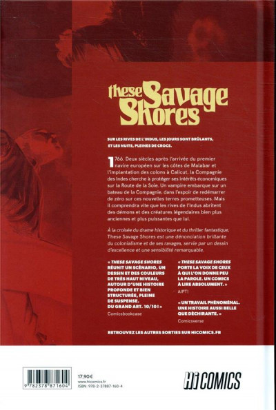 Dos These savage shores