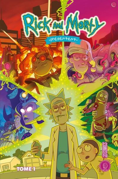 Couverture Rick & Morty présentent tome 1