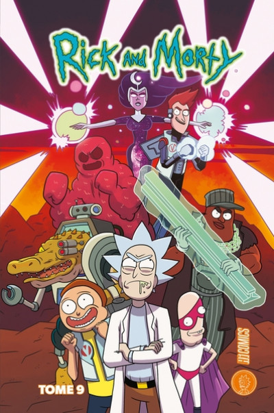Couverture Rick & Morty tome 9
