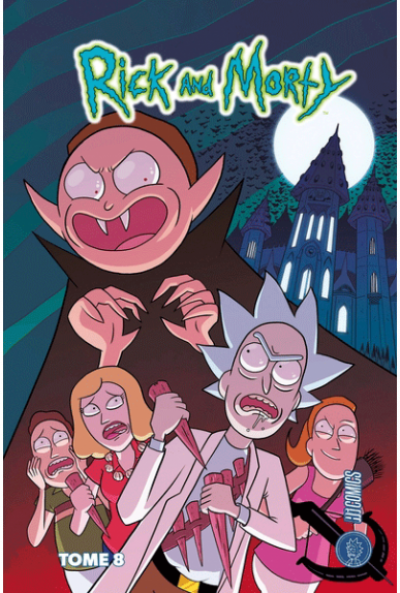 Couverture Rick & Morty tome 8
