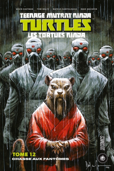 Couverture Les tortues ninja - TMNT tome 12