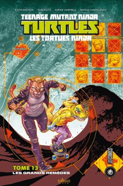 Couverture Les Tortues Ninja - TMNT tome 13