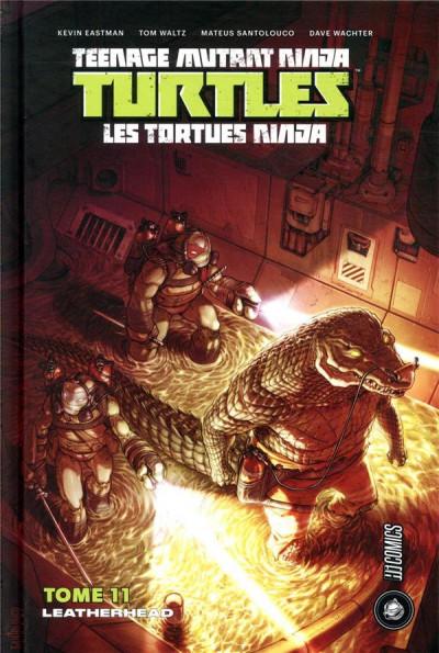 Couverture les tortues ninja - tmnt, t11 : leatherhead