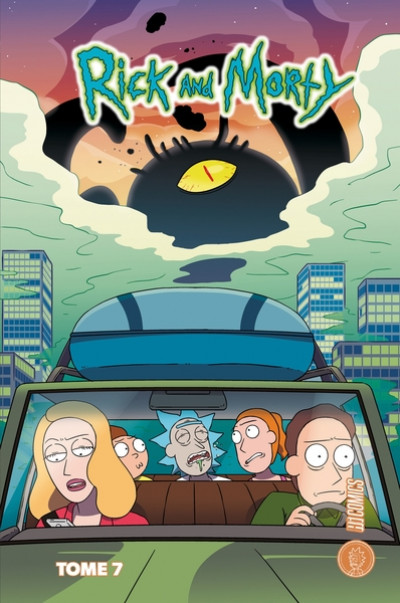 Couverture Rick & Morty tome 7