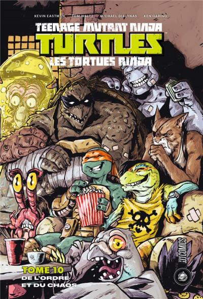 Couverture Les Tortues Ninja - TMNT tome 10