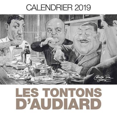 Couverture Les tontons d'Audiard - calendrier 2019