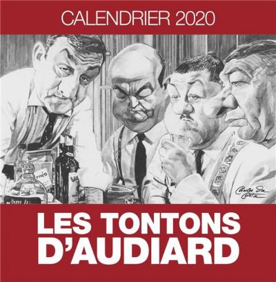 Couverture Les tontons d'Audiard - calendrier 2020