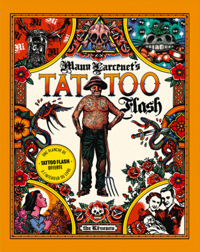 Couverture Tattoo flash