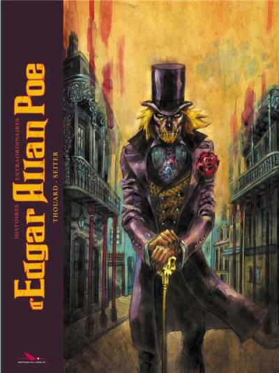 Couverture Histoires extraordinaires d'Edgar Allan Poe (nouvelle édition)