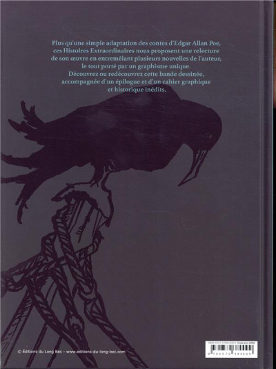 Dos Histoires extraordinaires d'Edgar Allan Poe (nouvelle édition)