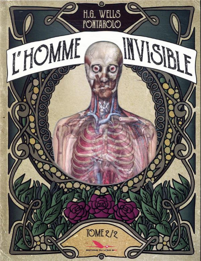 Couverture L'homme invisible tome 2
