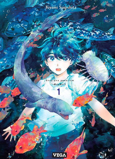 Couverture Deep sea aquarium magmell tome 1