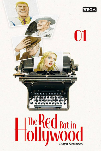 Couverture The red rat in Hollywood tome 1