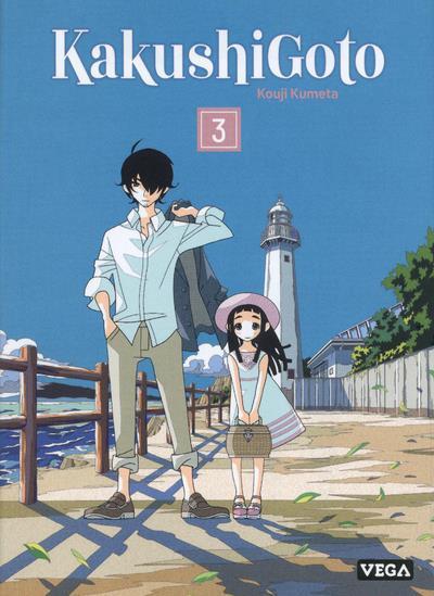 Couverture Kakushigoto tome 3