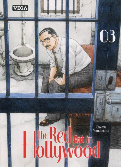 Couverture The red rat in Hollywood tome 3