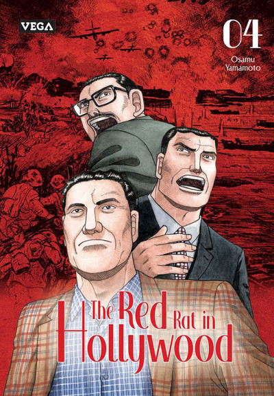 Couverture The red rat in hollywood tome 4