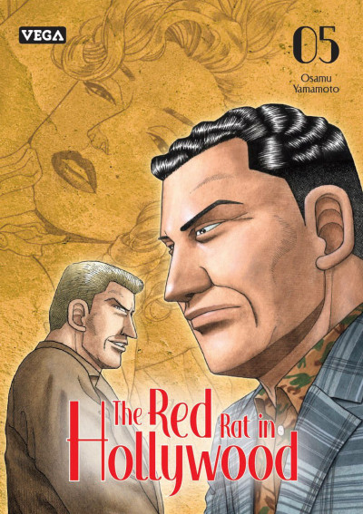Couverture The red rat in hollywood tome 5