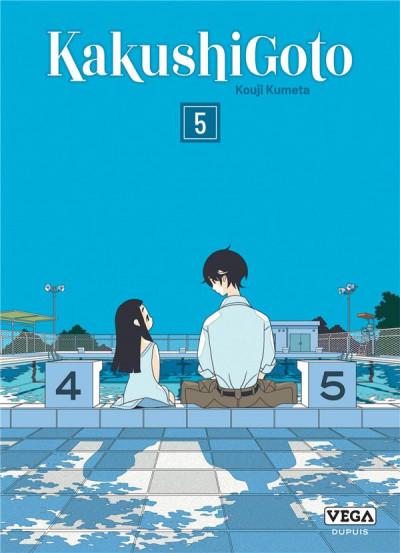 Couverture Kakushigoto tome 5