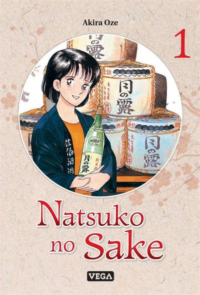 Couverture Natsuko no sake tome 1