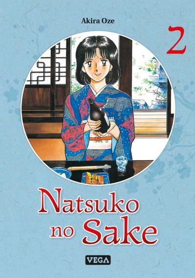 Couverture Natsuko no sake tome 2