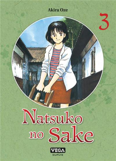 Couverture Natsuko no sake tome 3