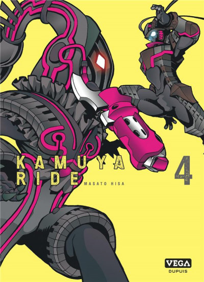Couverture Kamuya ride tome 4